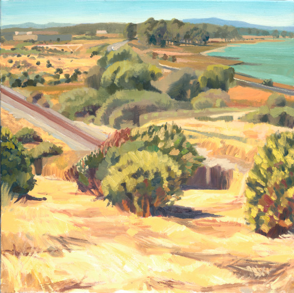 montalvin, east bay, landscape, painting, art