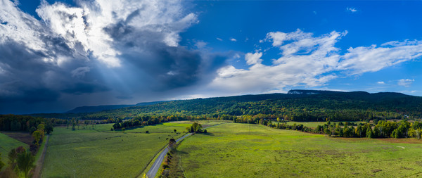 Storm Gathering - Mohonk - New Paltz - New-York