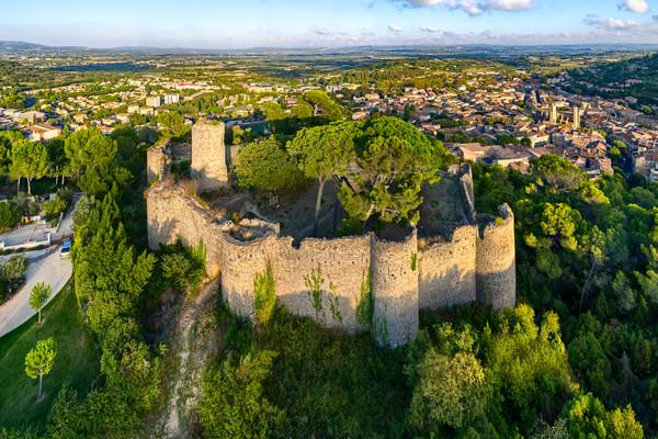 Chateau de Clermont - Clermont l'Herault - France