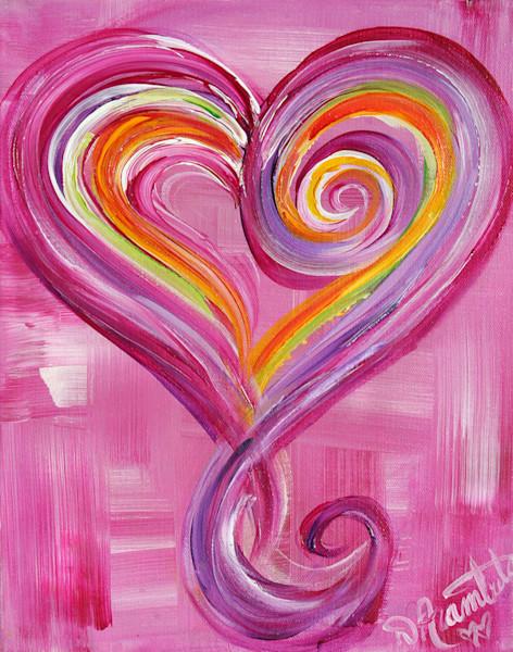 Pink Valentine Heart