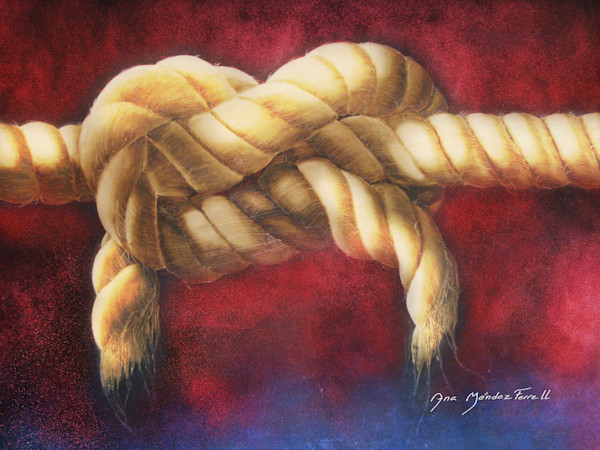 """Three Braided Cord"" by Ana Mendez Ferrell 