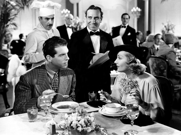 Carole Lombard & Fred MacMurray, Hands Across The Table