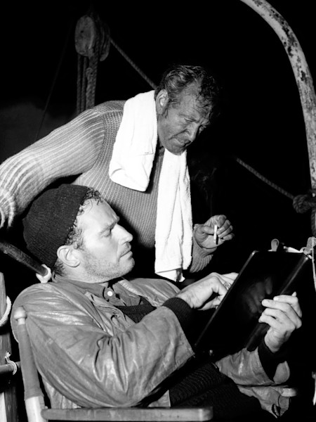 Charlton Heston & Gary Cooper, The Wreck of the Mary Deare