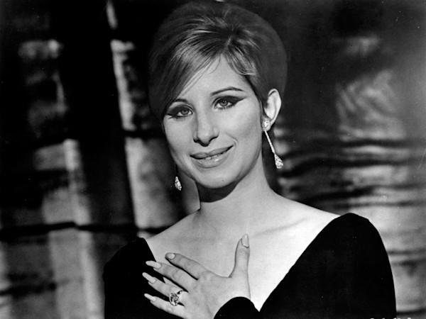 "Barbra Streisand as Fanny Brice in the film ""Funny Girl"""