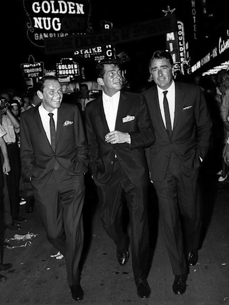 Frank Sinatra, Dean Martin and Peter Lawford, Ocean's 11