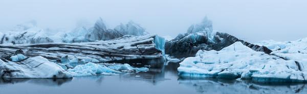 Iceland Jokulsarlon Lagoon - Fine Art Print