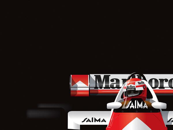Niki Lauda, by Ricardo Santos, Limited Edition Print