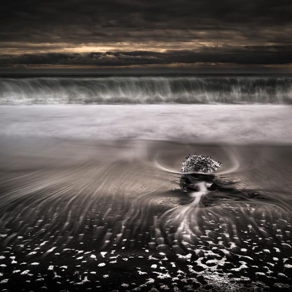 Iceland Black Beach - Fine Art Print - Alexander Rocco