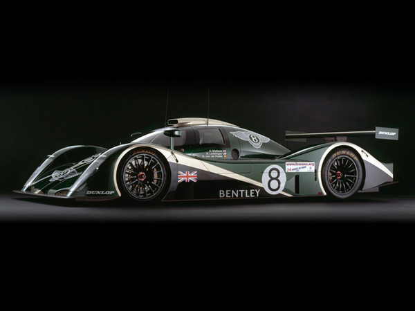 Bentley EXP Speed 8, Side View, by Rick Graves, Limited Edition Print