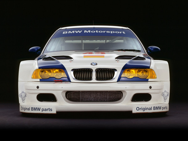 BMW M3 GTR, 2001, Front View, by Rick Graves, Limited Edition Print