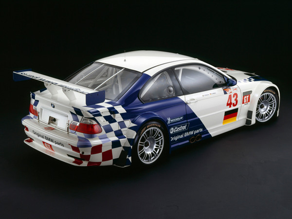 BMW M3 GTR, 2001, Rear 3/4 View, by Rick Graves, Limited Edition Print