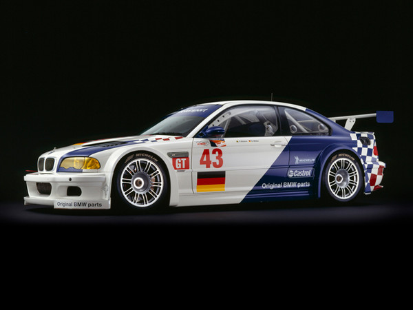 BMW M3 GTR, 2001, Side View, by Rick Graves, Limited Edition Print