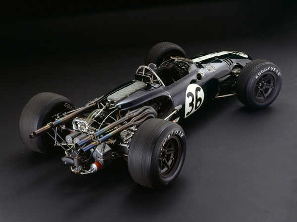 Eagle-Weslake V12, 1967, Rear 3/4 View, by Rick Graves, Limited Edition Print