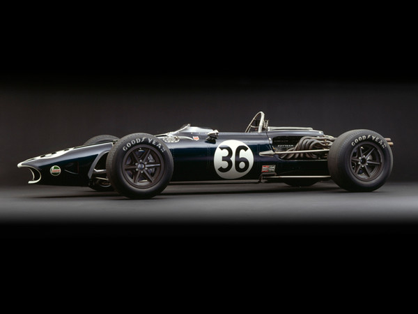 Eagle-Weslake V12, 1967, Side View, by Rick Graves, Limited Edition Print