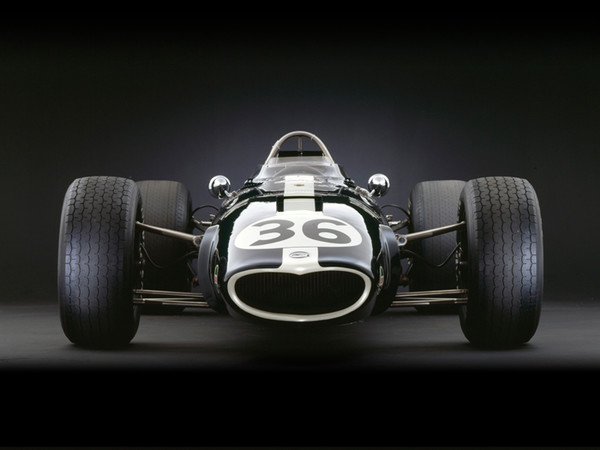Eagle-Weslake V12, 1967, Front View, by Rick Graves, Limited Edition Print