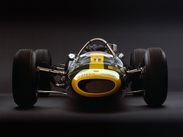 Lotus 34 Ford, 1964, Front View, by Rick Graves, Limited Edition Print