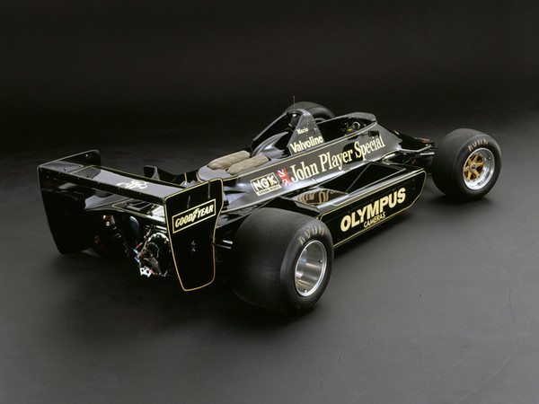 Lotus 79 Ford, 1978, Rear 3/4 View, by Rick Graves, Limited Edition Print
