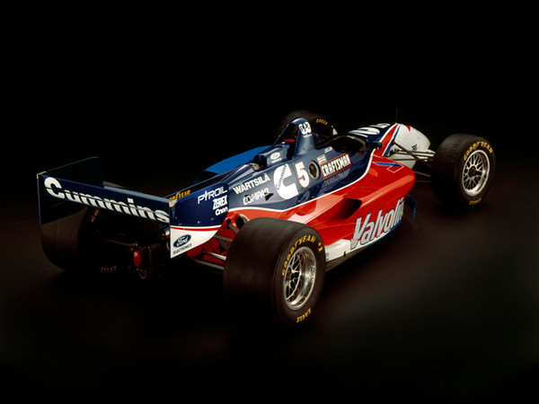 Reynard 96I Ford XD Cosworth, 1996, Rear 3/4 View, by Rick Graves, Limited Edition Print