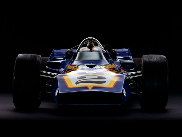 Parnelli Jones Colt-Ford Johnny Lightning, 1970, Front View, by Rick Graves, Limited Edition Print