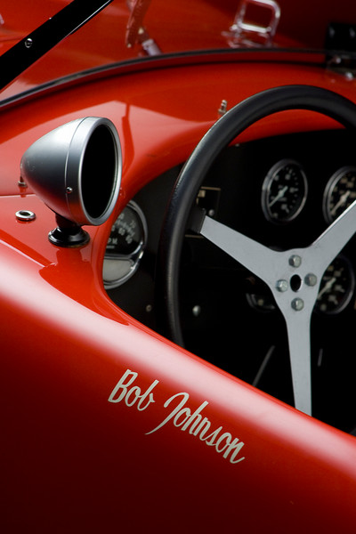 Shelby Cobra CSX 2026 Dashboard Detail by Boyd Jaynes