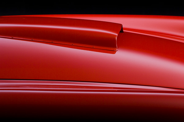 Shelby Cobra CSX2026 Hood Detail by Boyd Jaynes