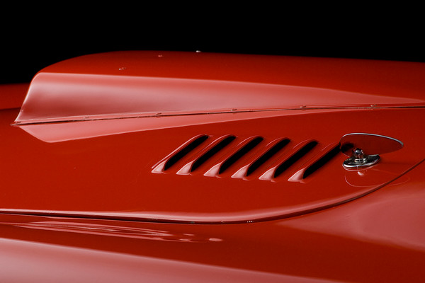 Shelby Cobra CSX 2002 Hood Detail by Boyd Jaynes