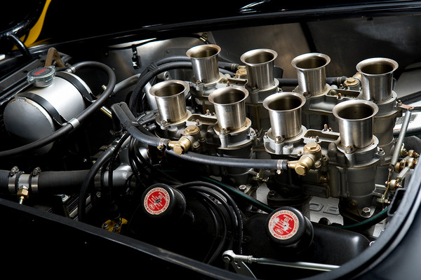 Shelby Cobra CSX 2128 Engine Detail by Boyd Jaynes