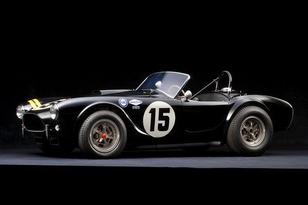 Shelby Cobra CSX 2128 Side View by Boyd Jaynes
