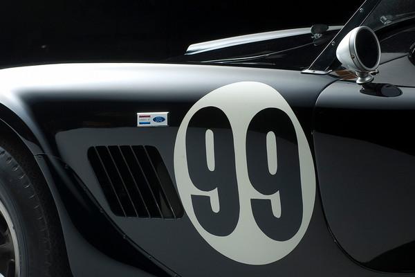 Shelby Cobra CSX 2137 Side Detail by Boyd Jaynes