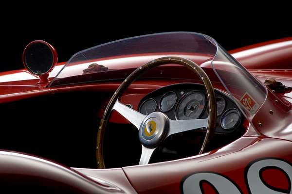 Ferrari 410 Sport Scaglietti Detail by Boyd Jaynes