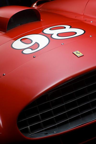 Ferrari 410 Sport Scaglietti Front Detail by Boyd Jaynes