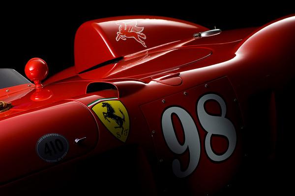 Ferrari 410 Sport Scaglietti Side Detail by Boyd Jaynes
