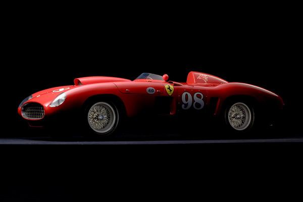 Ferrari 410 Sport Scaglietti Side View by Boyd Jaynes