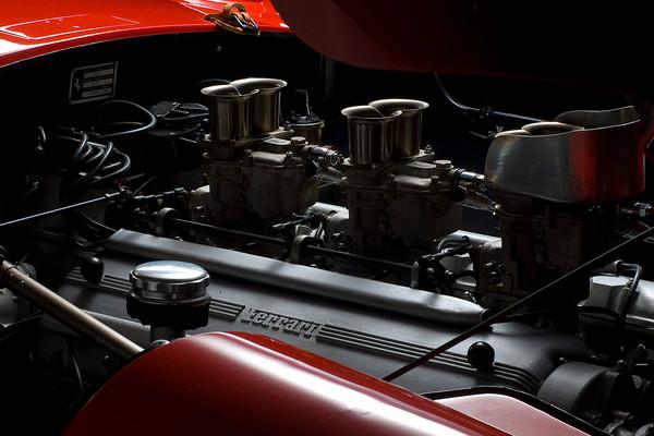Ferrari 410 Sport Scaglietti Engine Detail 2 by Boyd Jaynes