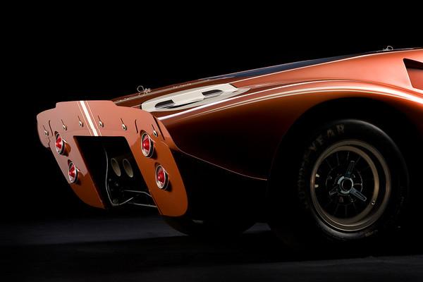 Ford 1967 GT40 MK 4 Rear View by Boyd Jaynes