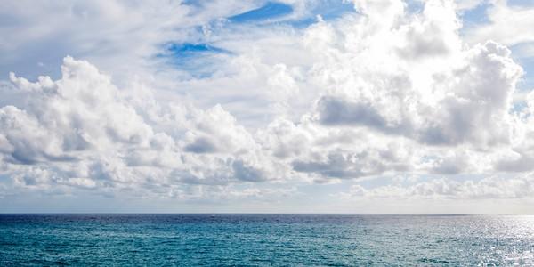 Cinque Terre Cloudscape art
