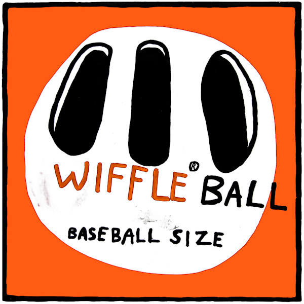 Wiffle Ball, a pop art print giving a nod to the iconic wiffle ball box.