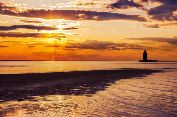 Cape Henlopen Sunset Limited Edition Signed Fine Art Landscape Photograph by Melissa Fague