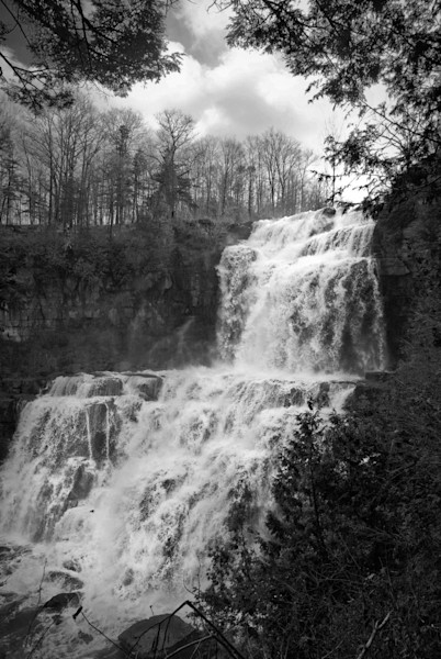 Chittenango Falls Limited Edition Signed Fine Art Landscape Photograph by Melissa Fague