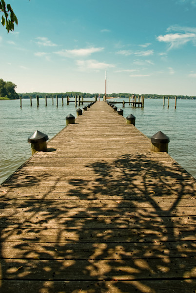 Endless Dock Limited Edition Signed Fine Art Landscape Photograph by Melissa Fague