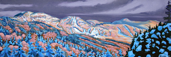'Harringtons View Vermont' Long Trail Art for Sale