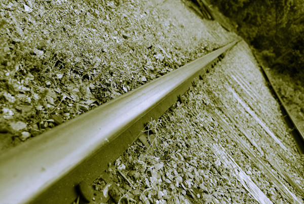 Lonely Rails Limited Edition Signed Fine Art Landscape Photograph by Melissa Fague