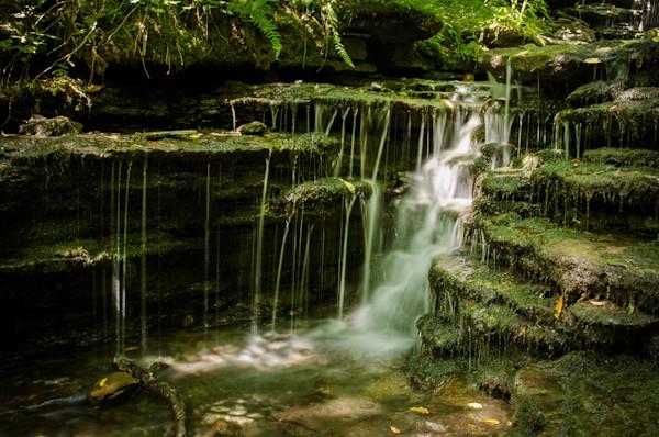 Pixley Falls 1 Limited Edition Signed Fine Art Landscape Photograph by Melissa Fague