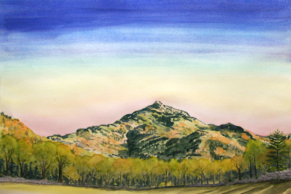 Spring Sunset Camels Hump Art for Sale