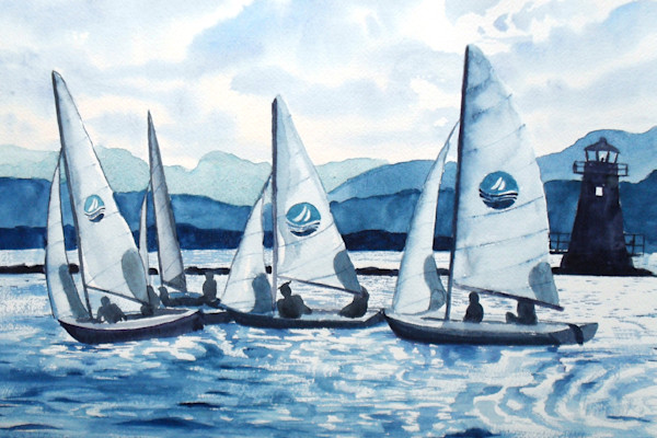 Lake Champlain Sailing Art for Sale
