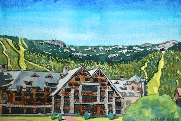 Solstice at Stowe Mountain Lodge Art for Sale