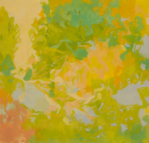 Spring's Arrival abstract oil painting