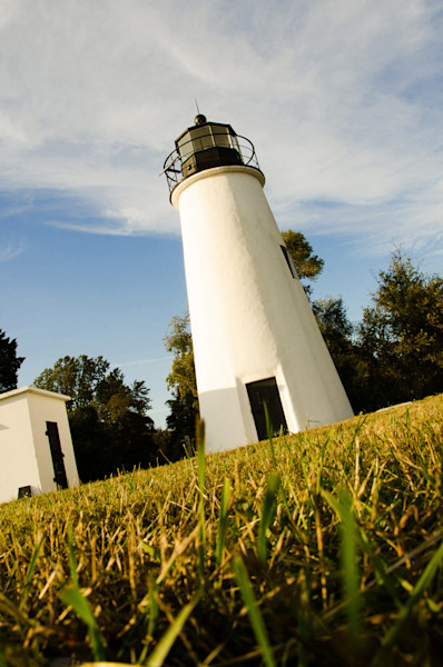Turkey Point Lighthouse Limited Edition Signed Fine Art Landscape Photograph by Melissa Fague