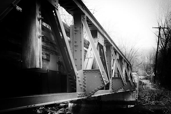 White Clay Creek Bridge Limited Edition Signed Fine Art Landscape Photograph by Melissa Fague