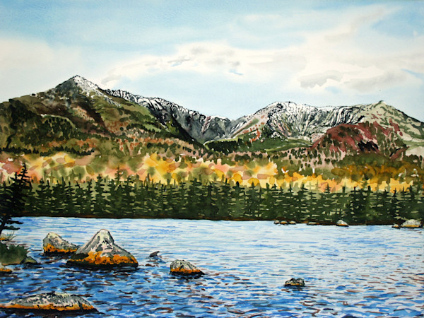 Katahdin Sandy Stream Pond Art for Sale